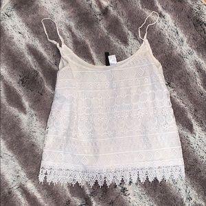 Express lace cami